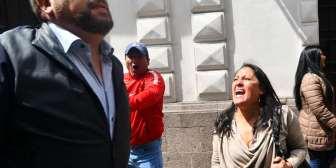 Samuel Doria Medina fue increpado por un grupo de personas en La Paz