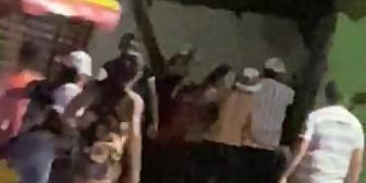 Ver video – Incidentes anoche después del clásico entre Oriente y Blooming.Reproducir…
