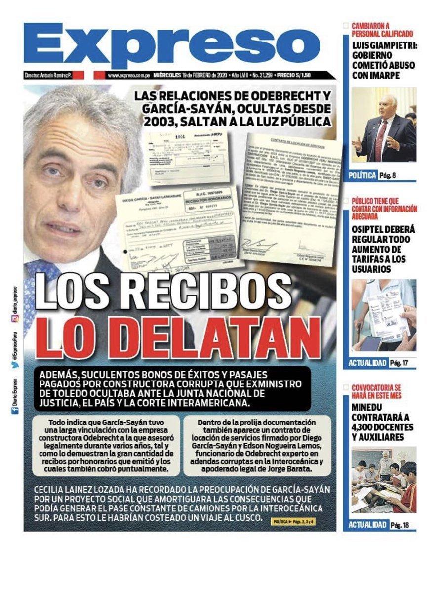 #GarcíaSayanPrevaricador de Naciones Unidas, ex juez de la CIDH que atacó la democracia bo…