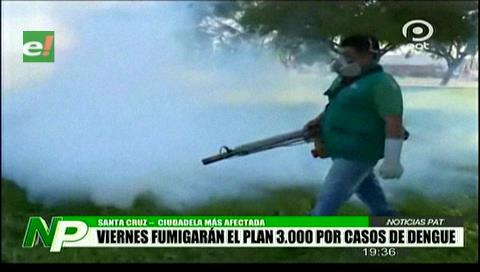 Lucha contra el dengue: El viernes fumigarán el Plan Tres Mil