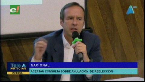 Pastrana y Quiroga celebran que CIDH trate la reelección indefinida