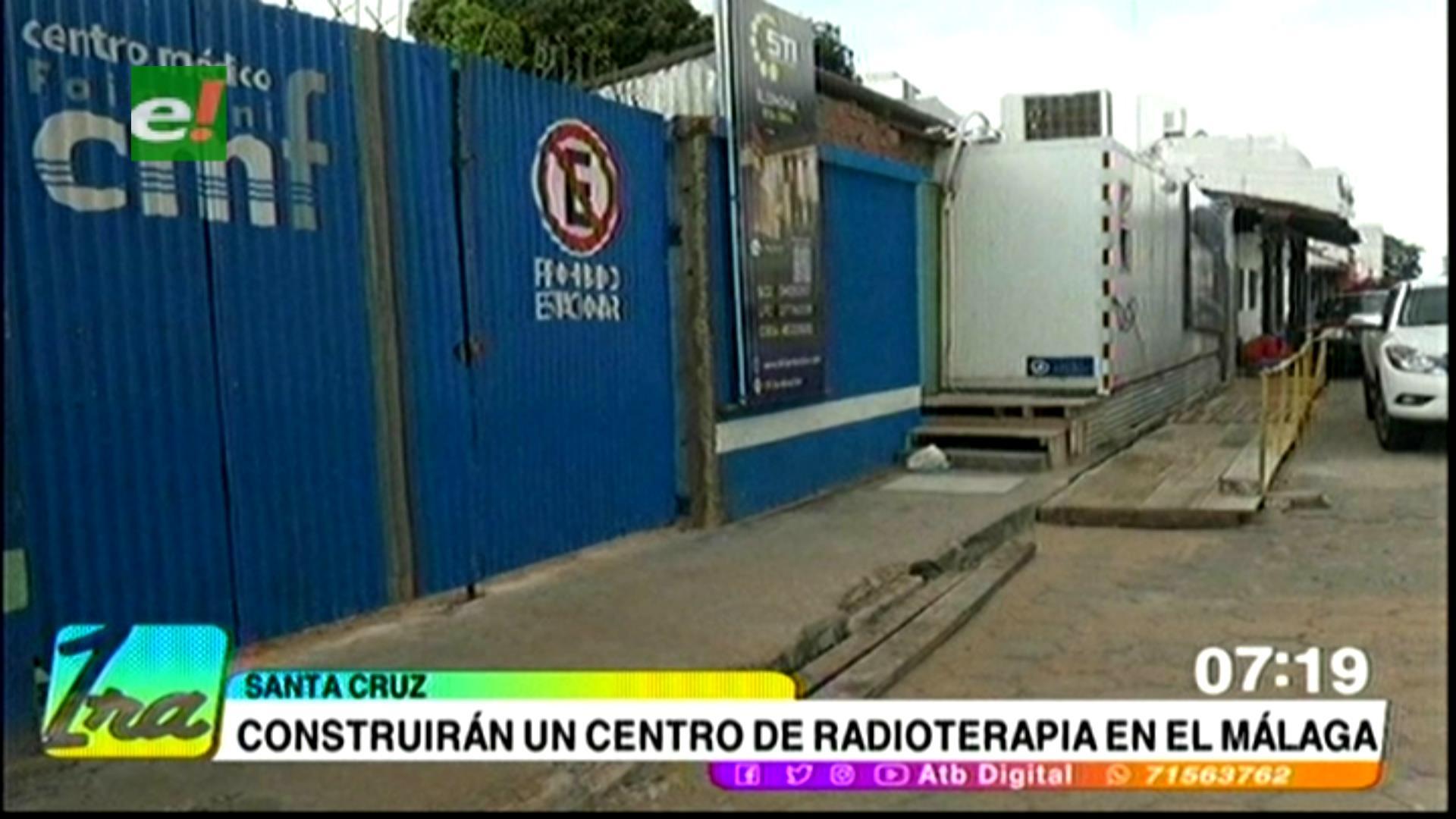 Construirán un centro de radioterapia en el terreno donde ocurrió la tragedia del edificio Málaga