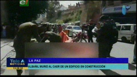 Albañil pierde la vida al caer de una construcción en el nudo Vita en La Paz