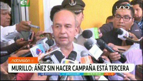 Murillo: Presidenta Áñez empató en las encuestas a Mesa sin hacer campaña