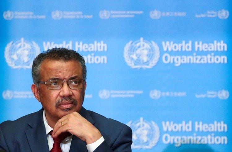 El director general de la OMS, Tedros Adhanom Ghebreyesus. Foto: REUTERS/Denis Balibouse