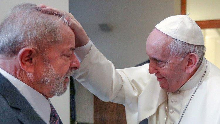 Lula visitó al papa Francisco