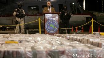 Costa Rica Historischer Fund: Fast 6 Tonnen Kokain beschlagnahmt (Reuters/J.-C. Ulate)