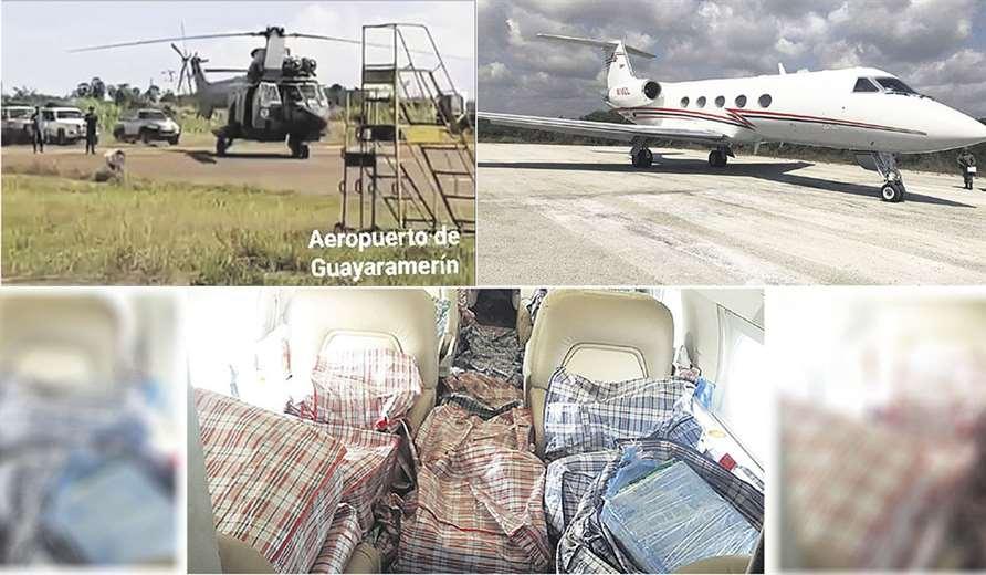 'Narcojet' con droga hizo una escala técnica en la pista de Guayaramerín