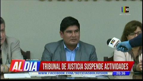 Santa Cruz: Tribunal de Justicia suspende actividades