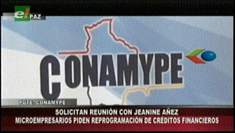 Conamype pide al Gobierno flexibilidad económica ante entidades bancarias por restricciones preventivas