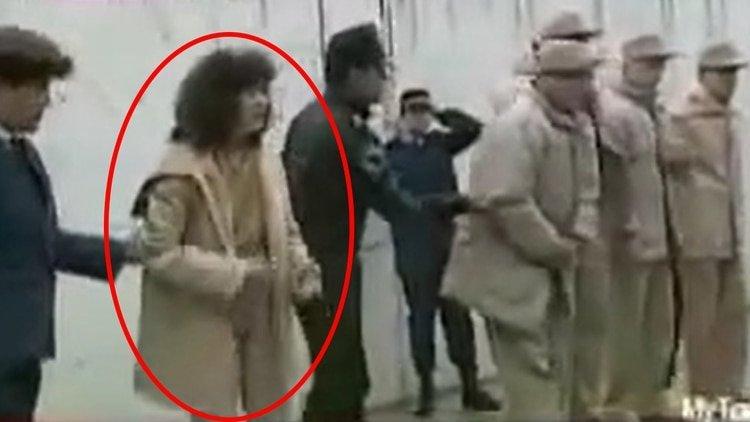 La joven era la única mujer en una cárcel de máxima seguridad para hombres (Foto: Captura de pantalla/Youtube@rux mux)