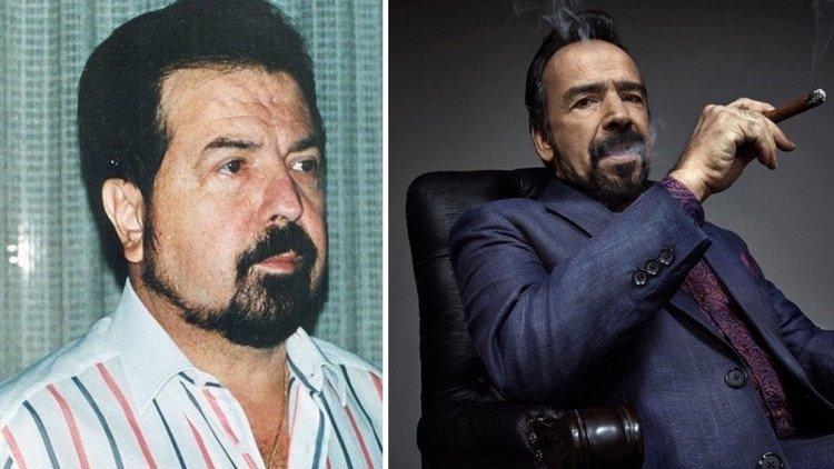 Gilberto Rodríguez Orejuela, líder del cartel de Cali, retratado en la última temporada de la serie Narcos.