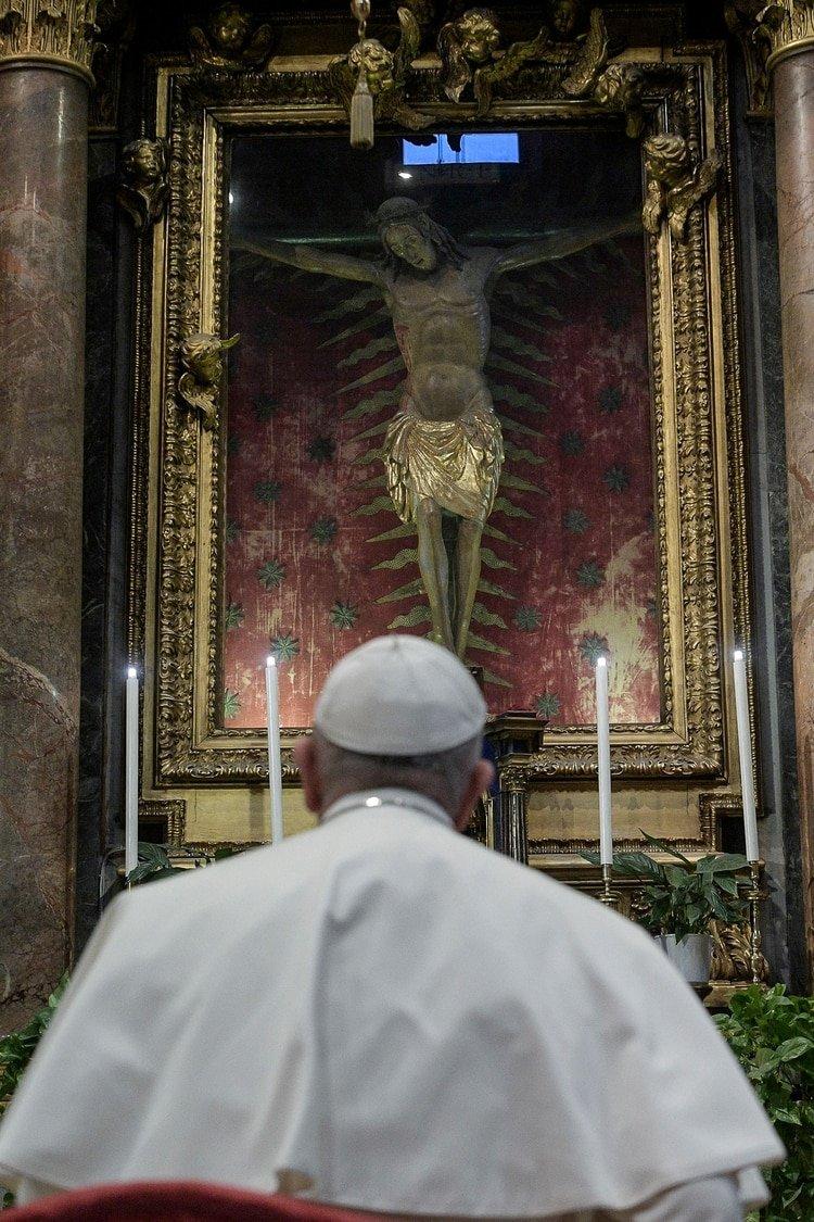 (Vatican Media via REUTERS)