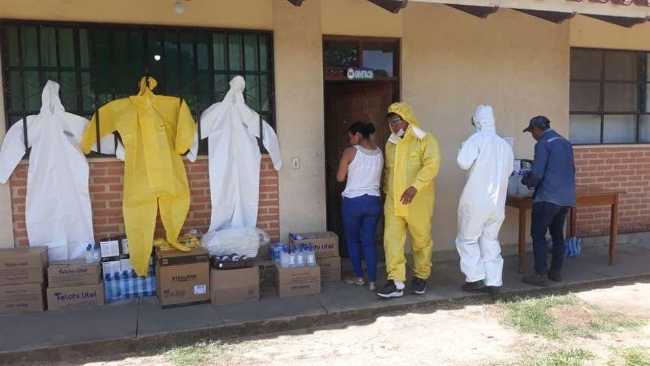 En el hospital de San Carlos se atendió el primer caso de coronavirus en Santa Cruz