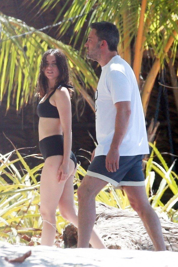 Ben Affleck, de 47 años, y Ana de Armas, de 31, se conocieron hace unos meses rodando la película