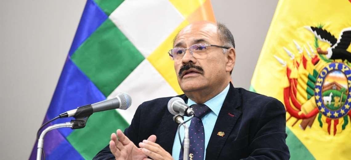 El ministro de Salud, Aníbal Cruz I Foto: Twitter.