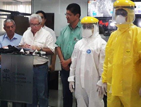 El gobernador Rubén Costas confirma el cuarto caso de coronavirus en Santa Cruz.
