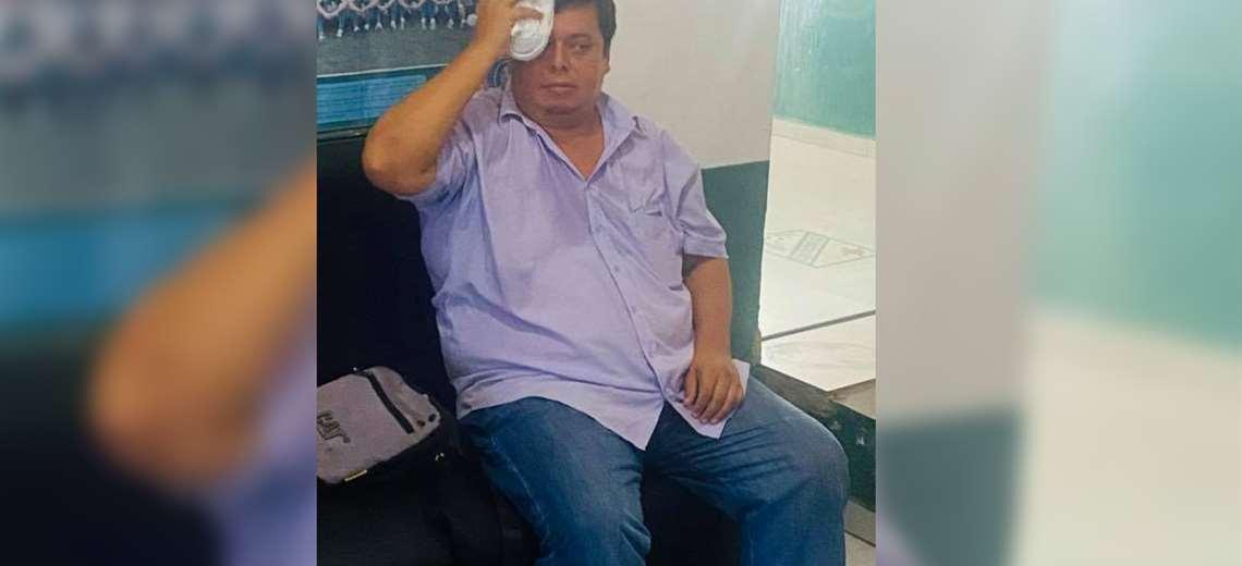 Bernardo Vaca, periodista de Bolivia Tv y BVC On line. Foto: Solo Fútbol