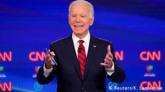 USA | Wahlen | Joe Biden (Reuters/K. Lamarque)
