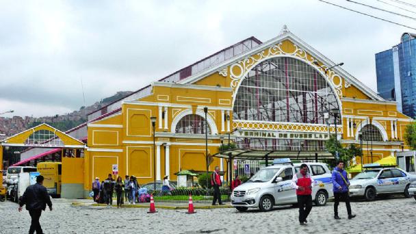 Resultado de imagen de terminal de La Paz