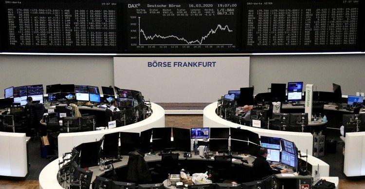 El índice DAX en la bolsa de Frankfurt, Alemania (REUTERS/Staff)
