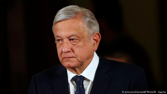 Mexiko Coronavirus López Obrador (picture-alliance/AP Photo/M. Ugarte)