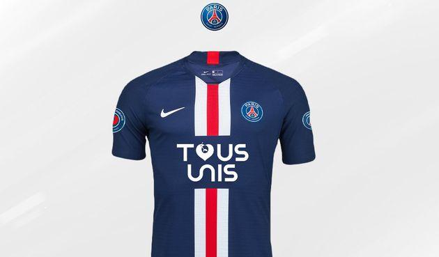 El PSG lanza una serie de camisetas en beneficio de los hospitales de París