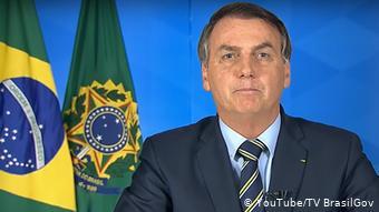Videostill - Rede Jair Bolsonaro (YouTube/TV BrasilGov)