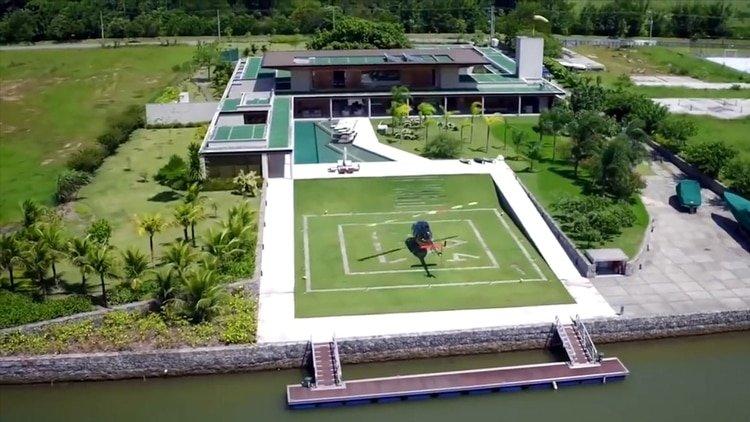 Esta es la mansión en la que Neymar atraviesa la cuarentena por el coronavirus