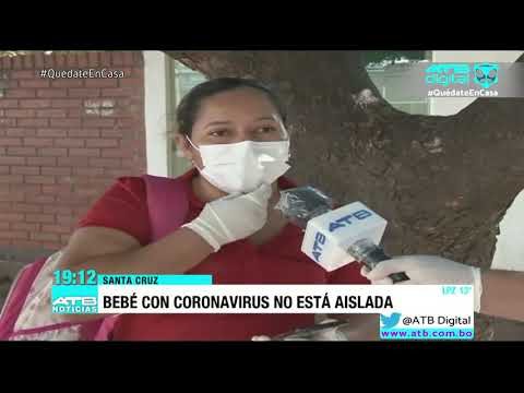 Bebé de 5 meses con coronavirus se encuentra en estado grave