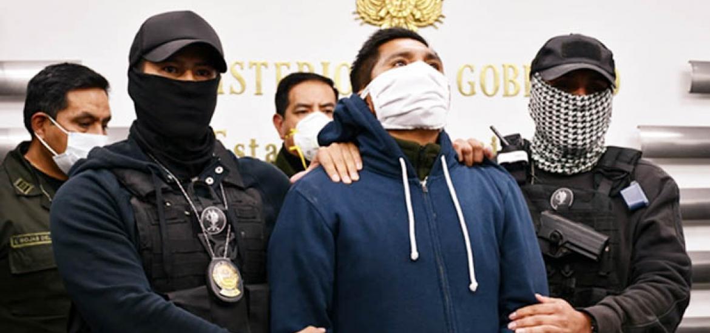 Red de extorsión: Excapitán no cayó antes porque es hijo de una excandidata del MAS en El Alto, según Murillo