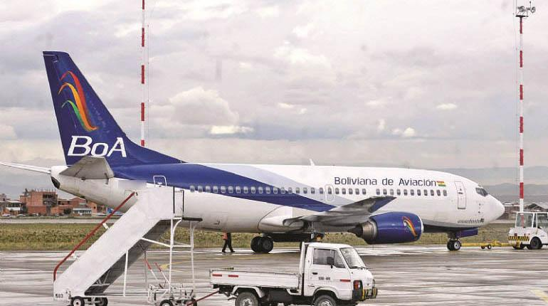 Por suspensión temporal de la DGAC a aviones Boeing, BoA realiza ...