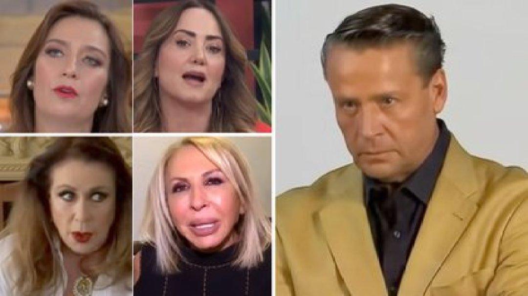 Adame ha tenido conflictos con varias famosas como Legarreta, Laura Bozzo, Laura Zapata y Diana Golden (Foto: Especial)