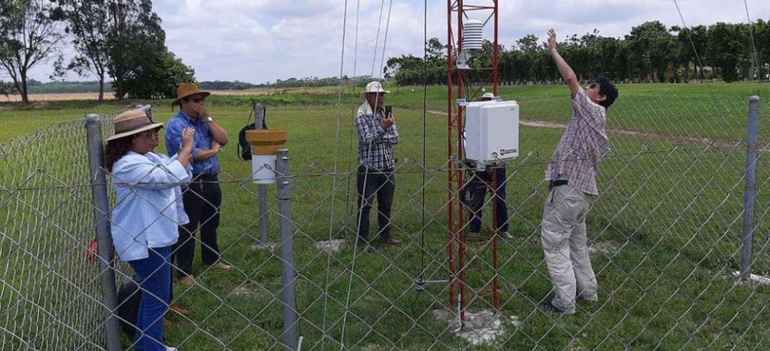 Una de las estaciones meteorológicas al servicio del agro (Foto: Anapo)