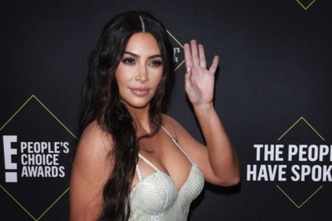 Kim Kardashian felicitó a Joe Biden (Foto: EFE/EPA/NINA PROMMER)