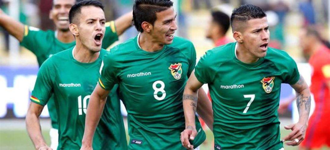 Un festejo de la selección boliviana. Foto: Internet