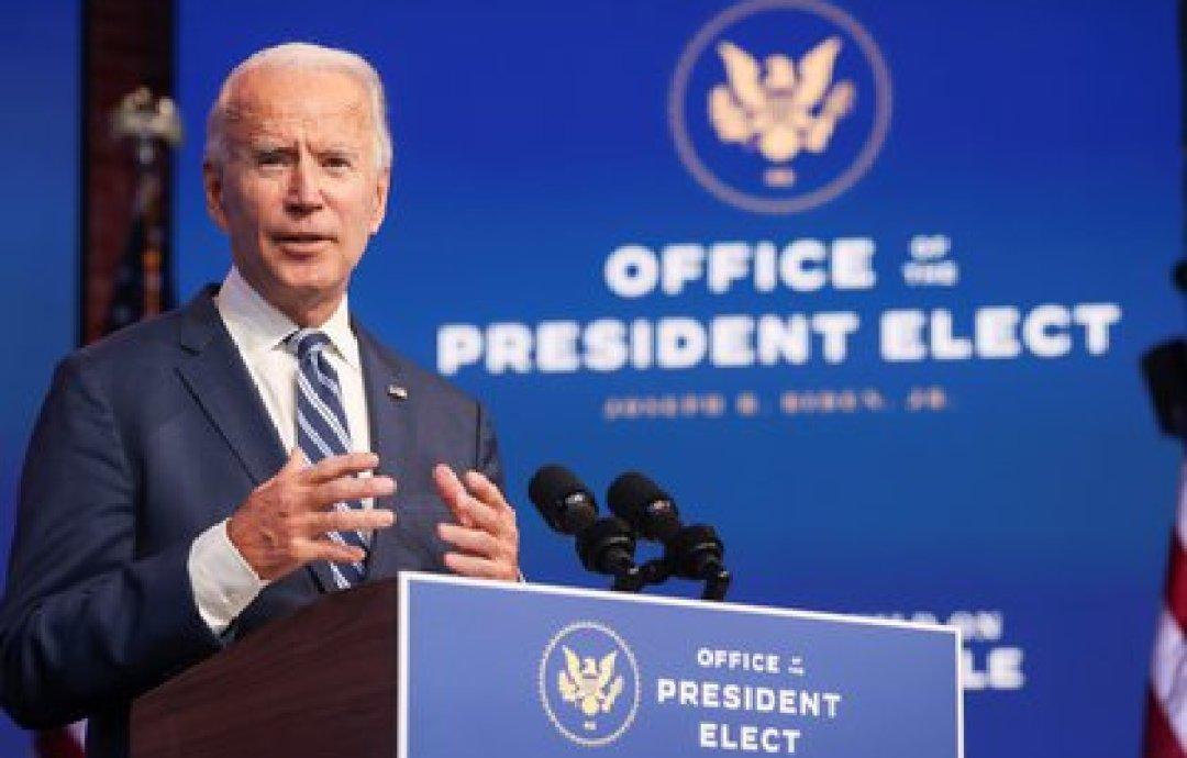 El presidente electo de los Estados Unidos, Joe Biden. Foto: REUTERS/Jonathan Ernst