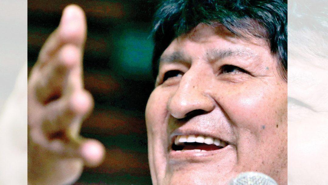 El expresidente Evo Morales. EFE