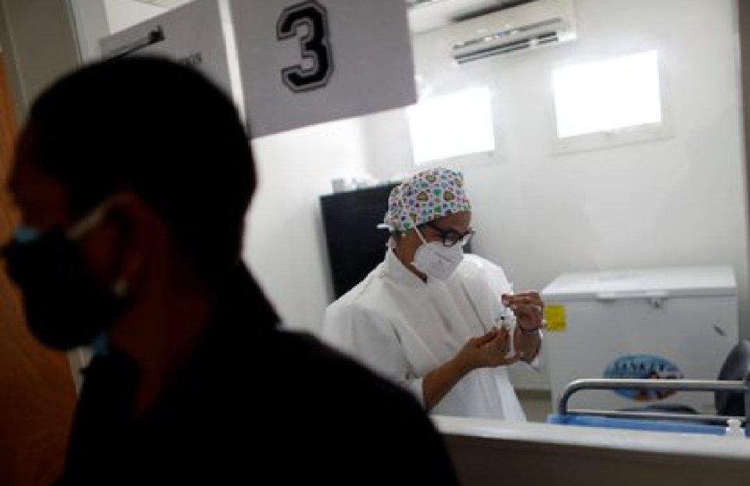 Una trabajadora sanitaria en Caracas (REUTERS/Leonardo Fernández Viloria)