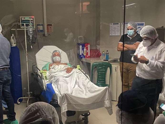 El padre del menor presenció la audiencia cautelar del médico acusado