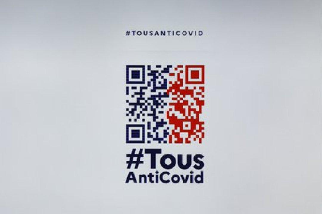 """El gobierno francés implementó desde el lunes en su aplicación """"TousAntiCovid"""" un código digital para acreditar una prueba PCR, requisito para poder viajar y cruzar pasos fronterizos."""