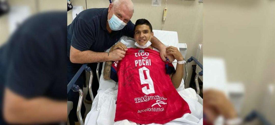 Cristian Chávez, baja en Wilstermann. Foto: Facebook Ctd Antezana