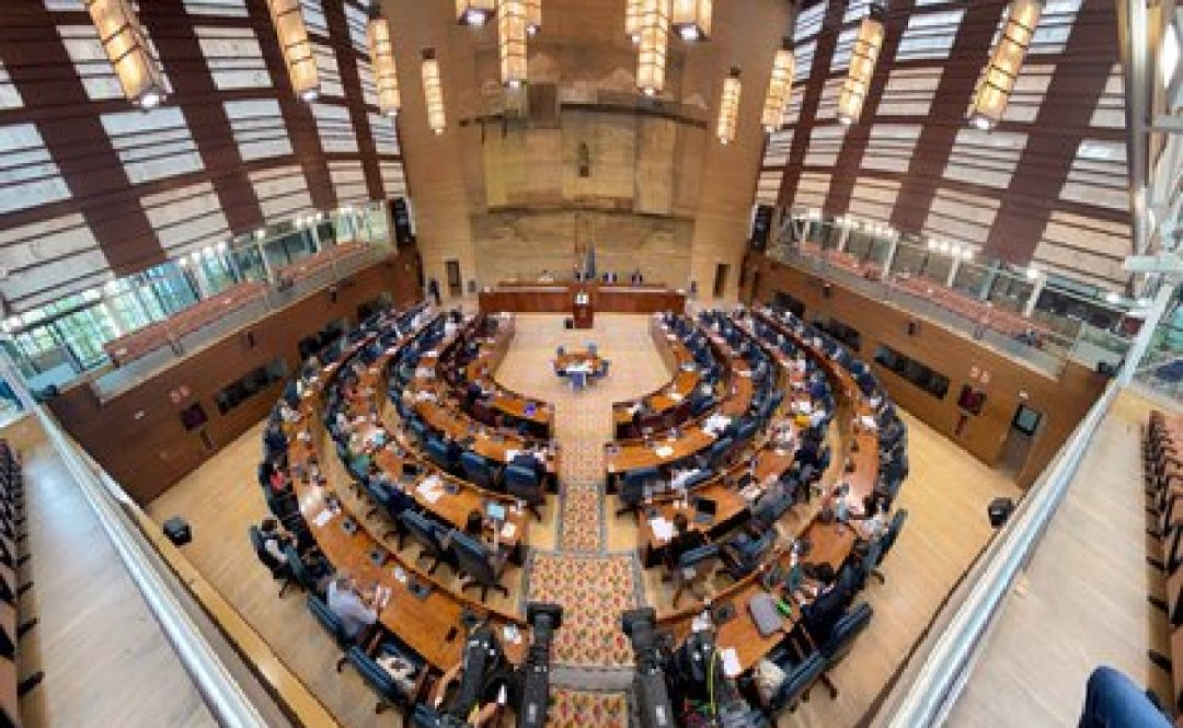 El hemiciclo de la Asamblea de Madrid (Eduardo Parra - Europa Press)