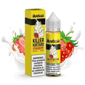 Killer Kustard Strawberry Vapetasia