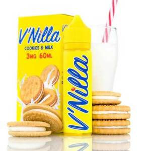 V'Nilla Cookies and Milk