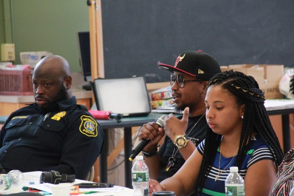Trauma to Trust participant speaking