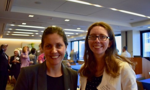 Former Gibbons Fellows Jenny Brooke Condon and Alicia Bannon