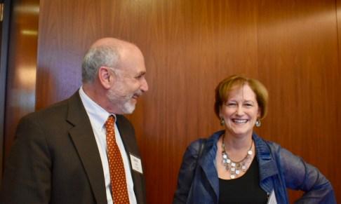 Larry Lustberg and Virginia Hardwick