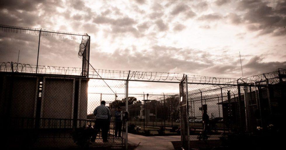 Outside Ark State Prison - Scott Langley
