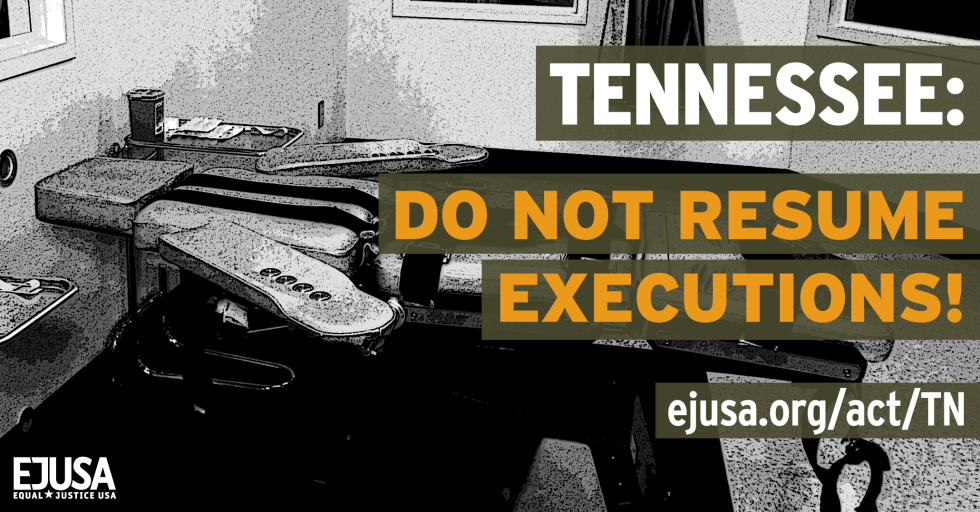 Tennessee - Do not resume executions